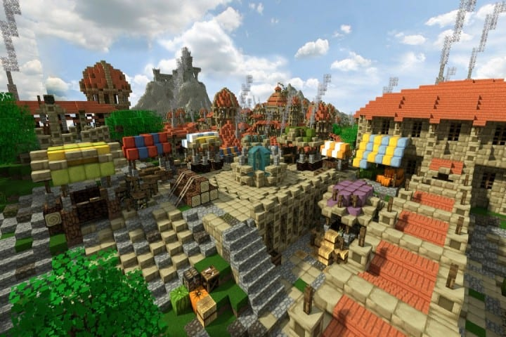 Dale City of men building minecraft ideas castle walls 8