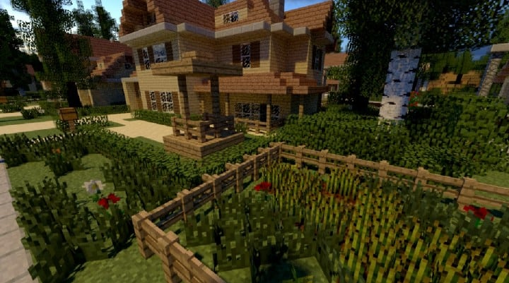 GREENVILLE idyllic village for download Map Schematics minecraft building ideas blueprints 11