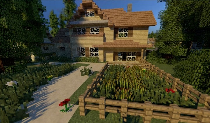 GREENVILLE idyllic village for download Map Schematics minecraft building ideas blueprints 8