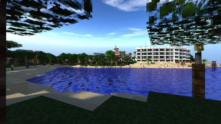 Greenfield The most realistic modern city in Minecraft building ideas help city town massive 2