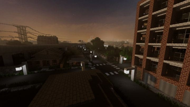 Greenfield The most realistic modern city in Minecraft building ideas help city town massive 3