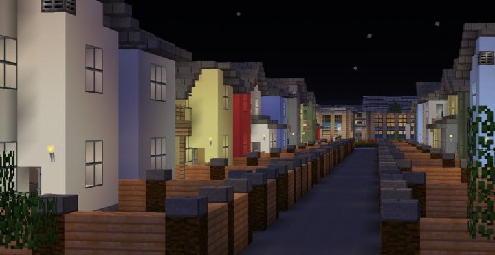 Greenfield The most realistic modern city in Minecraft building ideas help city town massive 5