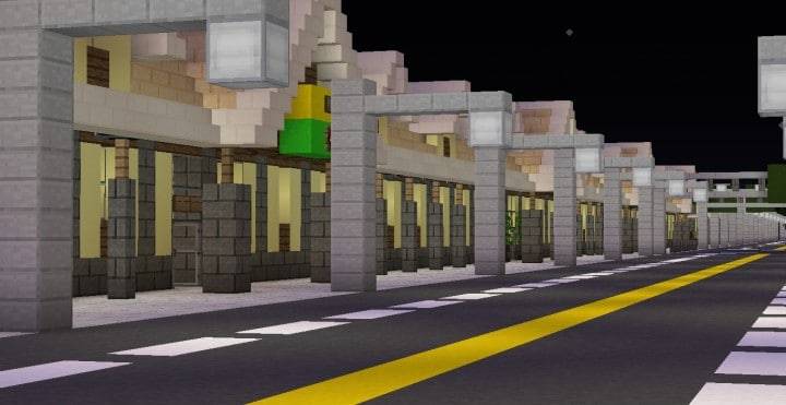 Greenfield The most realistic modern city in Minecraft building ideas help city town massive 6