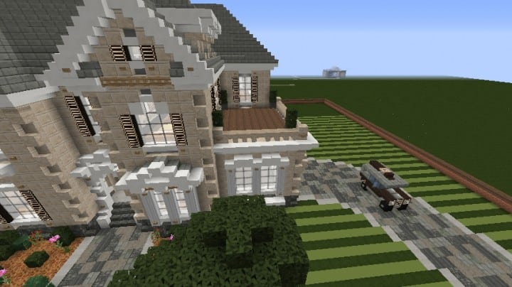 Minecraft Victorian House City Download build ideas 2
