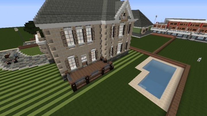Minecraft Victorian House City Download build ideas 3