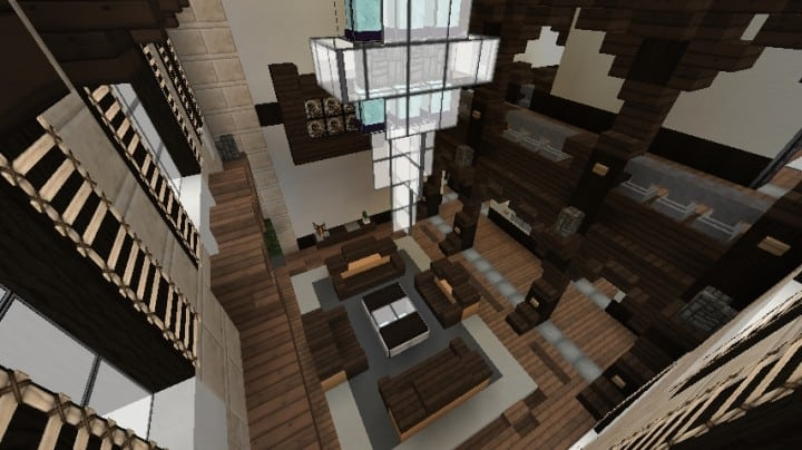 Minecraft Victorian House City Download build ideas 6