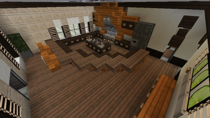 Minecraft Victorian House City Download build ideas 7