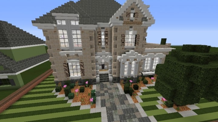 Minecraft Victorian House City Download build ideas