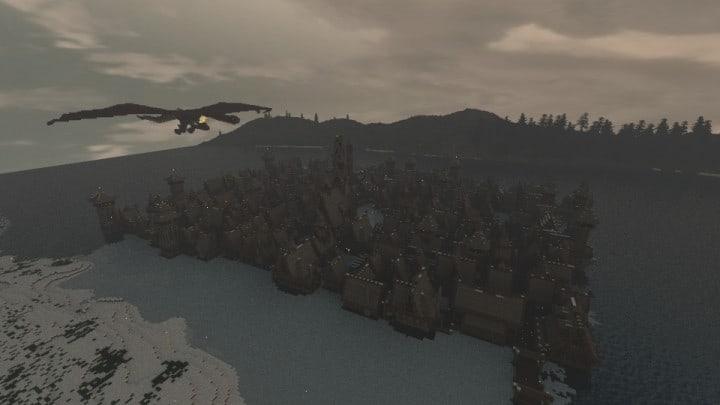 The Hobbit  Esgaroth Dale Erebor & Ravenhill minecraft building ideas movie town city village 2