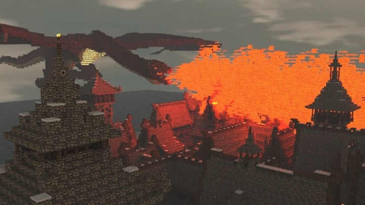 The Hobbit  Esgaroth Dale Erebor  Ravenhill  Minecraft