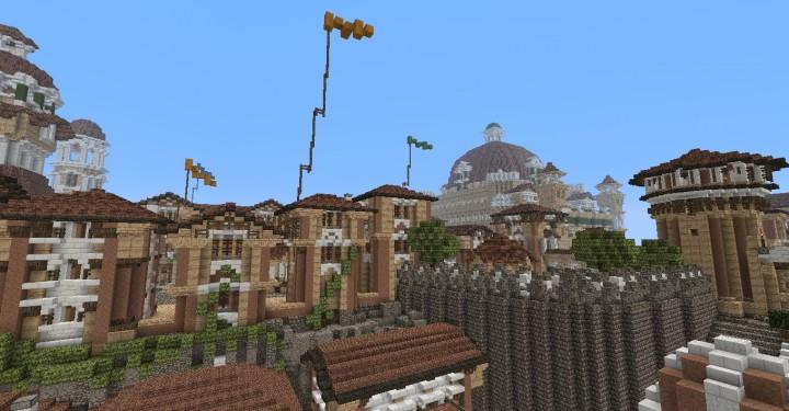 The Hobbit  Esgaroth Dale Erebor & Ravenhill minecraft building ideas movie town city village 5