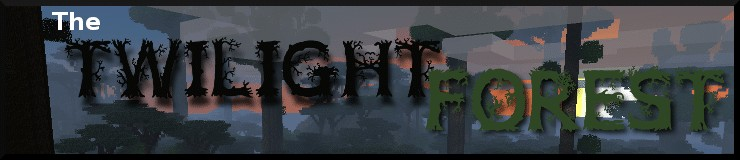 the twilight forest mod banner