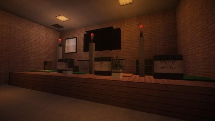 BP Gas Station The Block Society minecraft realistic fuel city town building ideas 3