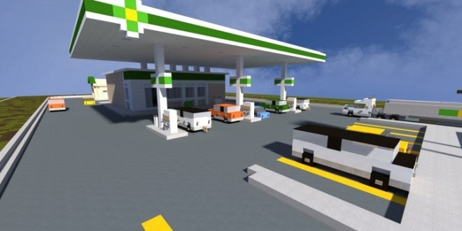bp gas station minecraft building inc