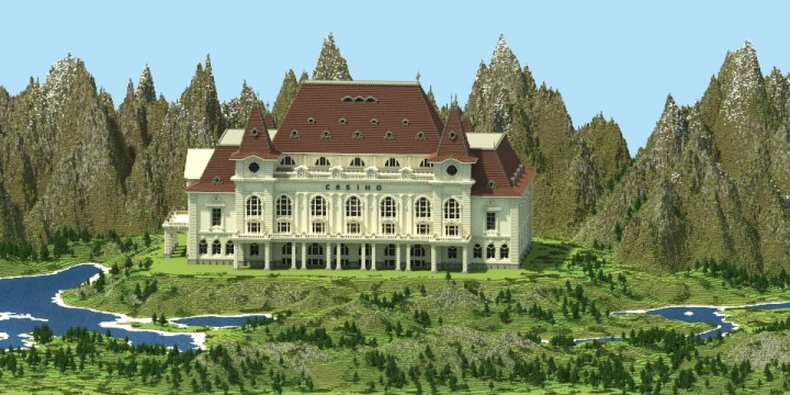 Bern Building Series 3 The Casino minecraft old rustic huge building ideas 4