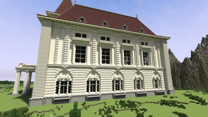 Bern Building Series 3 The Casino minecraft old rustic huge building ideas 7
