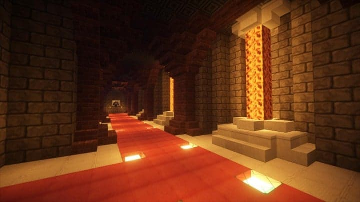 Castle Karazhan minecraft building ideas stone wall village enagerie 02