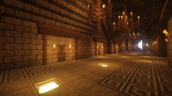 Castle Karazhan minecraft building ideas stone wall village guest chambers