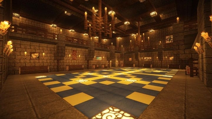 ... Castle Karazhan Minecraft Building Ideas Stone Wall Village The Grand  Ballroom ...