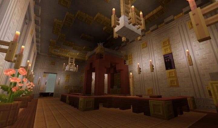 Chateau de Morangy minecraft building ideas 10