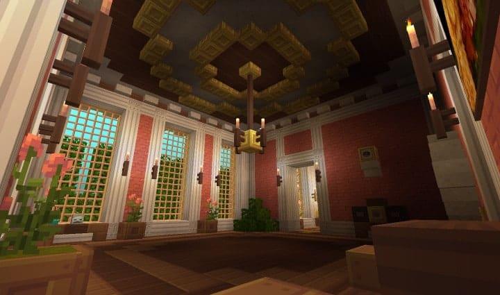 Chateau de Morangy minecraft building ideas 13