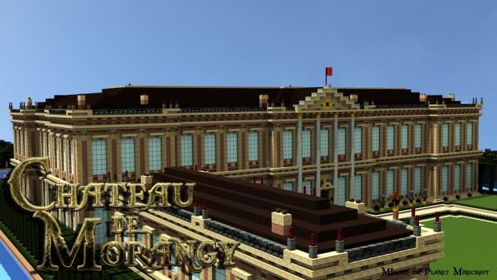 Chateau de Morangy minecraft building ideas 2