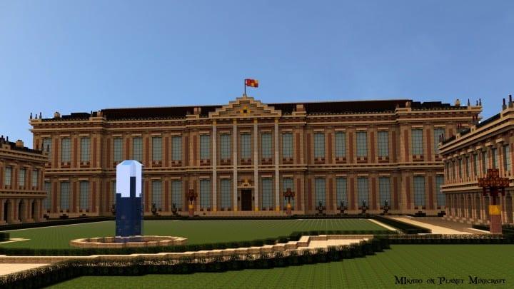 Chateau de Morangy minecraft building ideas 3
