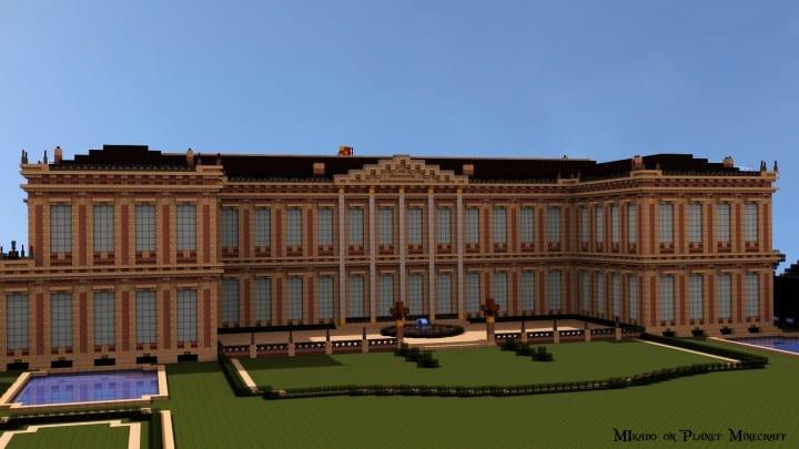 Chateau de Morangy minecraft building ideas 4