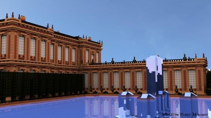 Chateau de Morangy minecraft building ideas 5
