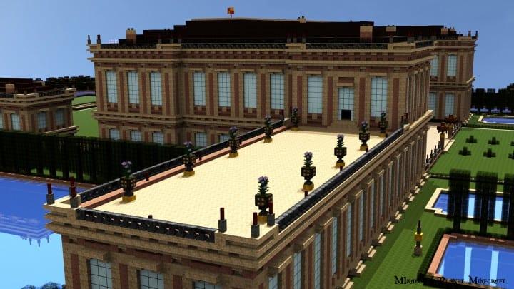 Chateau de Morangy minecraft building ideas 6