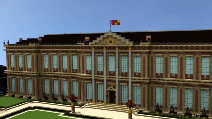 Chateau de Morangy minecraft building ideas 9