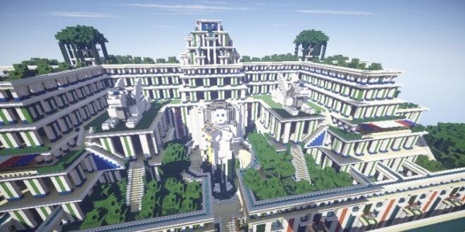 Hanging Gardens Of Babylon Minecraft Building Inc