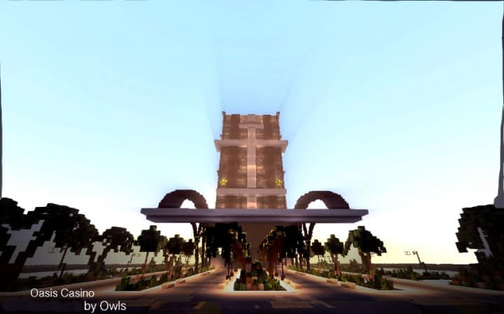Oasis Casino minecraft building ideas inc beautiful amazing tower water design exterior 6