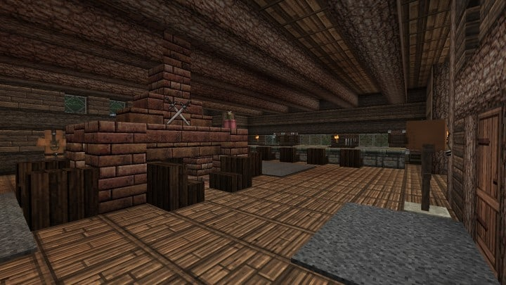 Ravenhold Skyrim inspired project minecraft house castle midevil town download 13