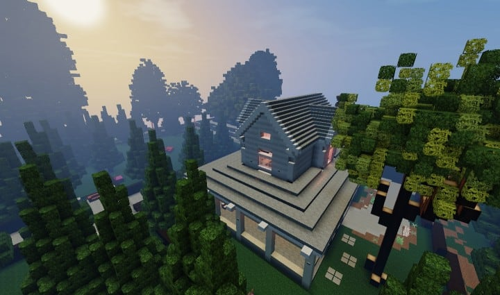 Victorian Home WoK minecraft building ideas house interior finished country porch 2