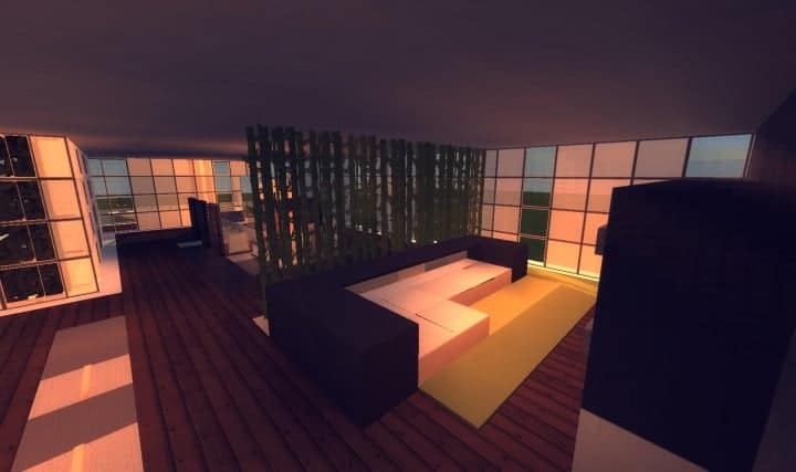 Living room ideas in minecraft minecraft living room for Minecraft lounge ideas