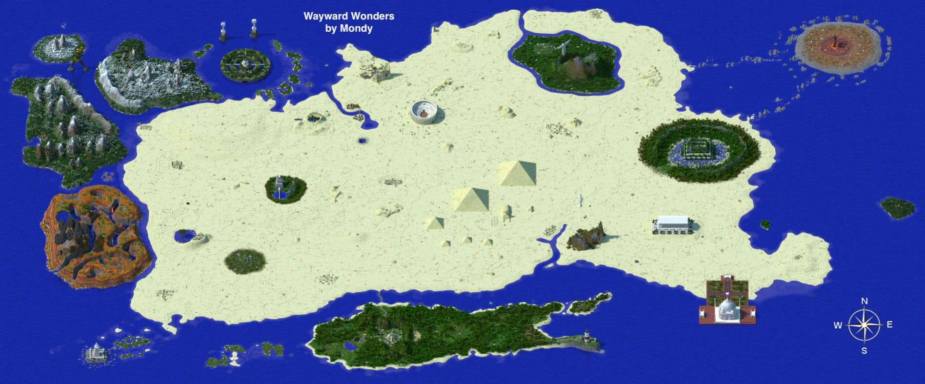 wayward wonders 1.8.3 world map