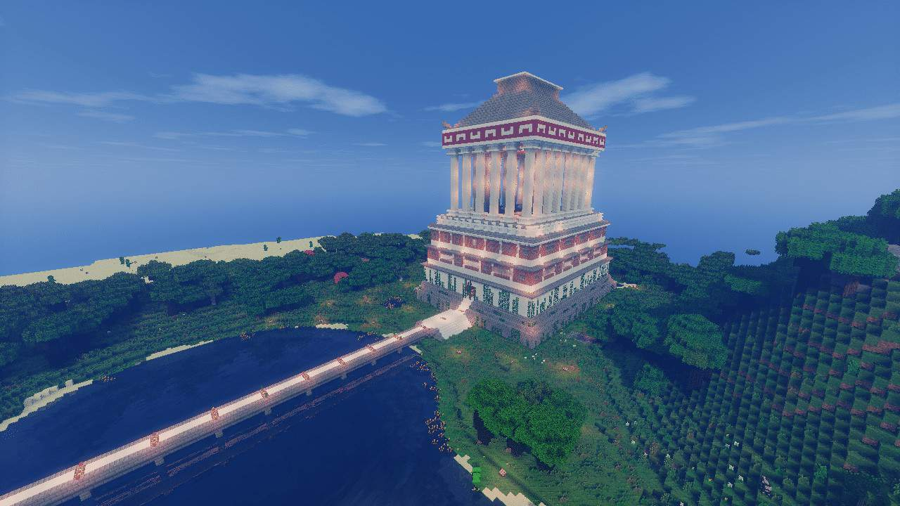 wayward wonders  minecraft temple of the world ideas