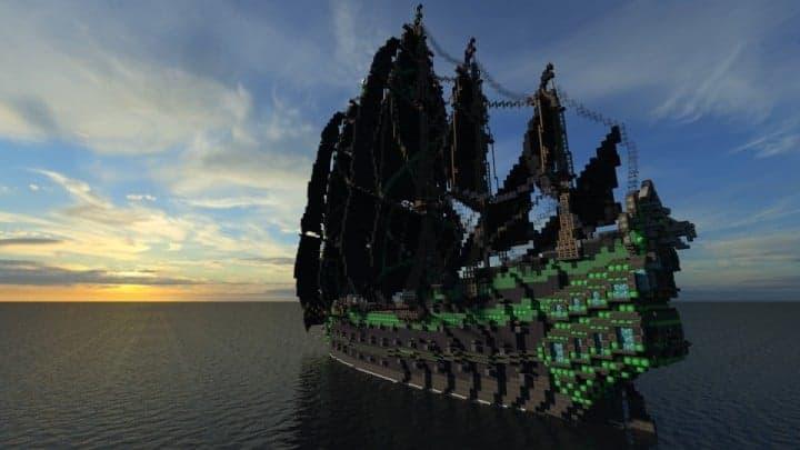 1st rate Pirate Galleon full interior download minecraft sea 12
