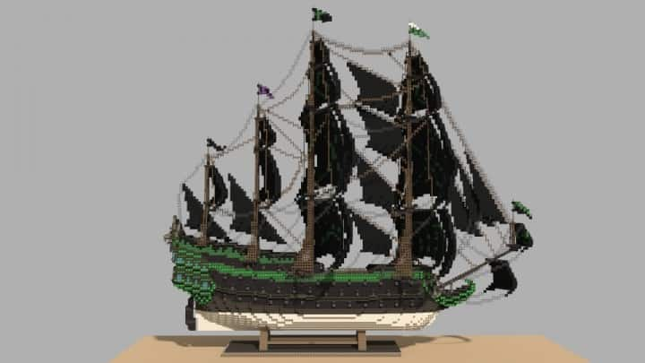 1st rate Pirate Galleon full interior download minecraft sea 13
