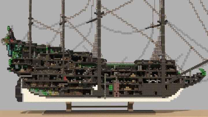 1st rate Pirate Galleon full interior download minecraft sea 14