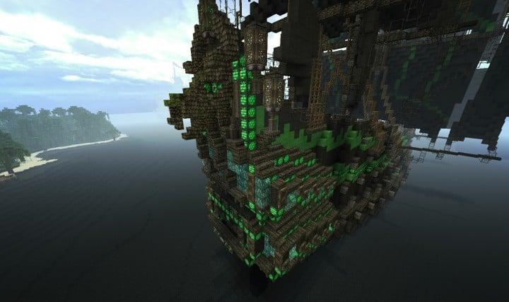 1st rate Pirate Galleon full interior download minecraft sea 15