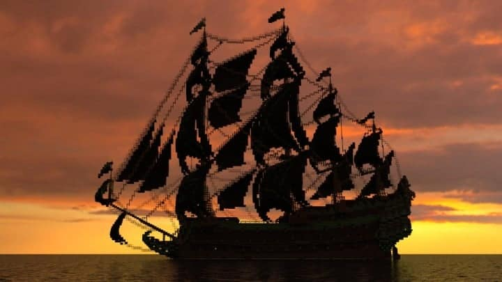 1st rate Pirate Galleon full interior download minecraft sea 5