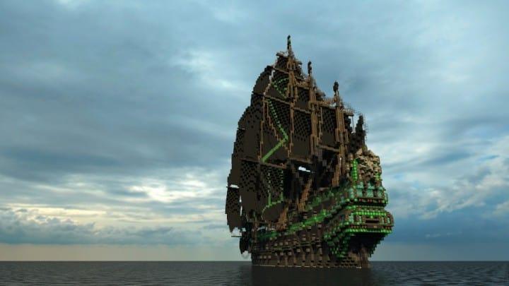 1st rate Pirate Galleon full interior download minecraft sea 6