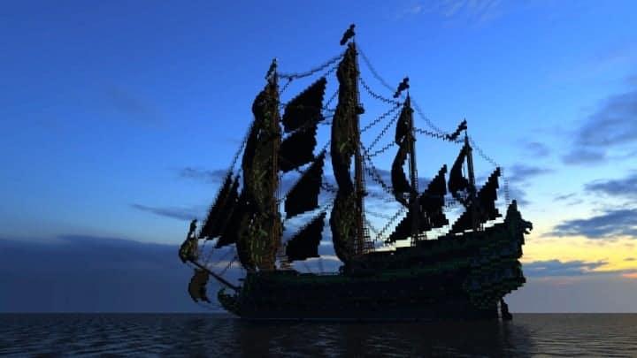 1st rate Pirate Galleon full interior download minecraft sea 7