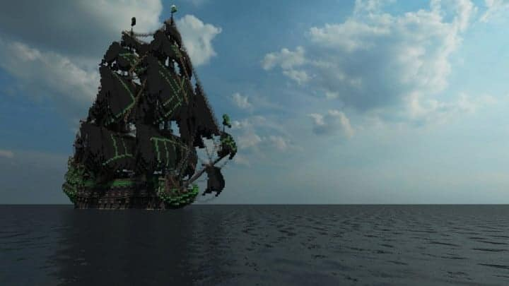 1st rate Pirate Galleon full interior download minecraft sea 8