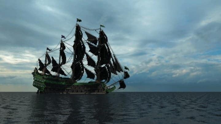 1st rate Pirate Galleon full interior download minecraft sea 9