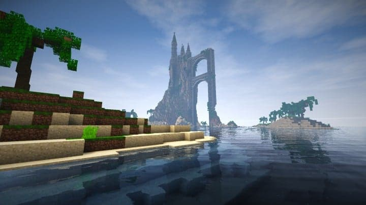 Abandoned Caribbean Castle minecraft building download save ideas 3