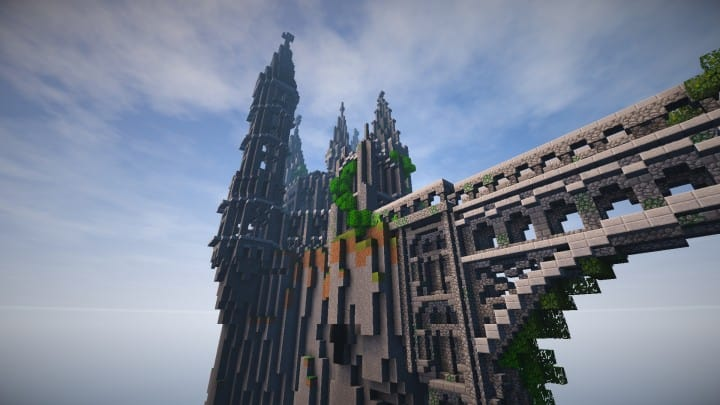Abandoned Caribbean Castle minecraft building download save ideas 4