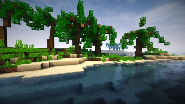 Abandoned Caribbean Castle minecraft building download save ideas 6